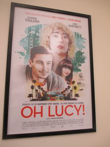 Oh Lucy! US poster at the office of Film Movement
