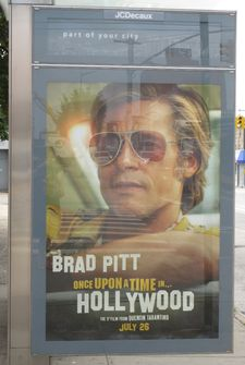 Once Upon a Time … in Hollywood poster in New York