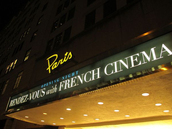 Opening night at The Paris Theatre for Rendez-Vous with French Cinema in New York