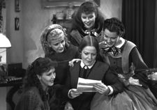 George Cukor's Little Women with Jean Parker, Joan Bennett, Katharine Hepburn, Frances Dee, and Spring Byington