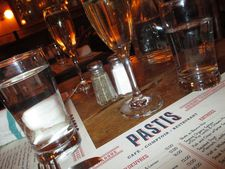 At Pastis, a toast with Sam Shepard.