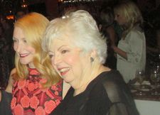 Letters From Baghdad executive producer Thelma Schoonmaker with Patricia Clarkson