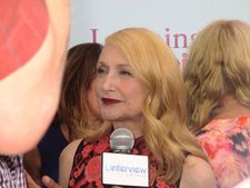 "Patricia Clarkson on coming back from London: ""I miss my co-stars. But now I've got Sir Ben."""