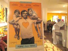 People Places Things US poster at the Crosby Street Hotel