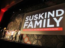 Perri Peltz with Life, Animated's Suskind family
