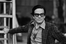 "Willem Dafoe on Pier Paolo Pasolini's plaid jacket: ""He really mixed and matched in a very creative way."""