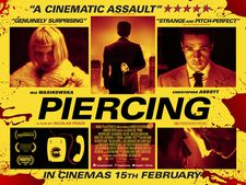 The poster for Piercing
