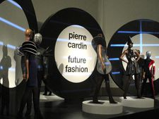 Pierre Cardin: Future Fashion exhibition at the Brooklyn Museum