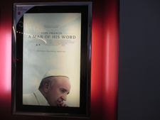 ‪Pope Francis: A Man Of His Word‬ poster in New York