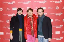 Executive Producer Katharina Posch, Director Daniel Hoesl, Cinematographer Gerald Kerkletz in the limelight of Sundance