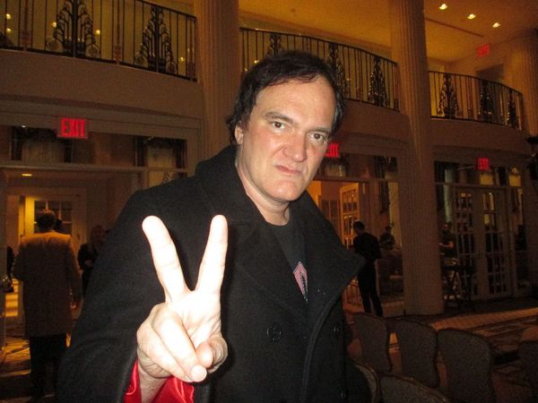 "The Hateful Eight director Quentin Tarantino: ""I'll take any Brechtian reference."""