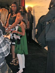 Beasts Of The Southern Wild Oscar-nominated star Quvenzhané Wallis with her mother Qulyndreia Wallis