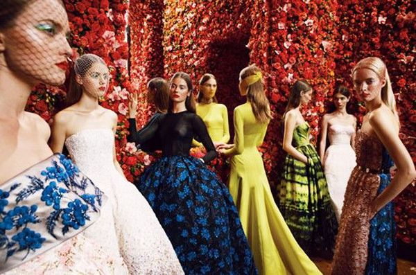 Raf Simons' first House of Dior haute couture collection: