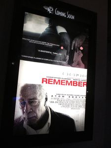 Remember US poster at the Angelika Film Center
