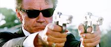 Harvey Keitel in Reservoir Dogs:  ''I have played people in conflict who have a need sometimes to commit violence. I examine it in that position, constantly.'