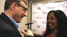 "Lucy McBath with Reverend Rob Schenck in The Armor Of Light: ""Morally, I believe, that our pastors and our faith communities have a responsibility…"""