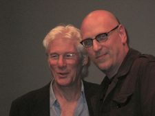 Puzzle co-screenwriter Oren Moverman with his The Dinner and Time Out of Mind star Richard Gere