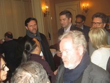 Blade Runner director Ridley Scott at The Martian 21 Club afternoon tea