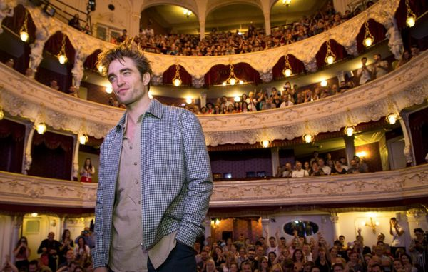Robert Pattinson in Karlovy Vary for the closing weekend of the festival