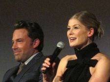 "Rosamund Pike with Ben Affleck: ""I did win him over in the end with the crêpes."""