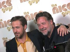 "Russell Crowe on Ryan Gosling: ""He is very smart and comes to the job with so much passion."""