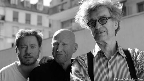 Image conscious (from left): Juliano Ribeiro Salgado, Sebastião Salgado and Wim Wenders, collaborators on The Salt of the Earth. The atmosphere was not always so amicable ...