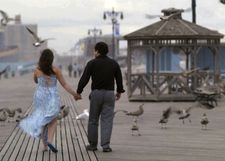 "Sarah and David in Coney Island: ""That was always a favorite sequence of mine in the script..."""