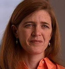 Samantha Power, author of A Problem From Hell: America And The Age Of Genocide