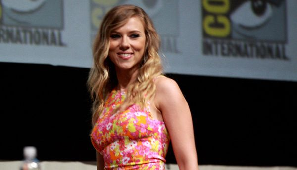 Scarlett Johansson, controversially cast in Rug & Tug