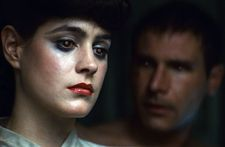 Sean Young with Harrison Ford in Blade Runner, co-written by Hampton Fancher