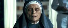 "Giusi Merli as Sister Maria: ""She looks very different from the character."""