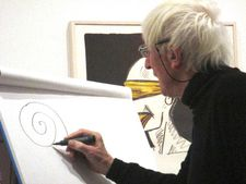 "Snail - Tomi Ungerer: ""A snail is a very funny animal."""