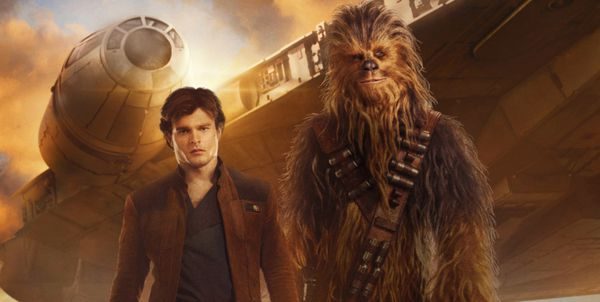 Alden Ehrenreich takes on Harrison Ford's mantle in Solo