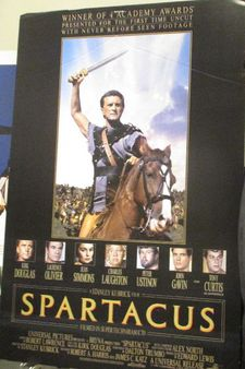 "Spartacus poster at MoMA: ""Kirk [Douglas] knew that he [Trumbo] loved birds …"""