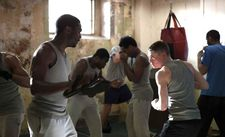 Starred Up prison exercise: