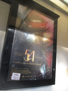 Studio 54 poster at the IFC Center in New York