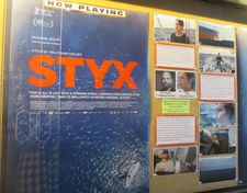 Styx poster at Film Forum in New York