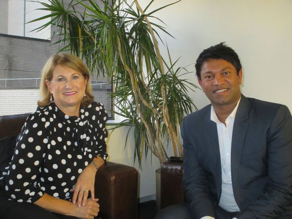 "Sue Brierley with Saroo Brierley on Nicole Kidman in Lion: ""It is a really powerful portrayal."""