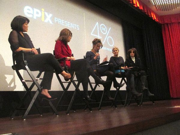 Caroline Suh, Dr. Stacy Smith, Robbie Meyers, Mary Harron and Amy Heckerling