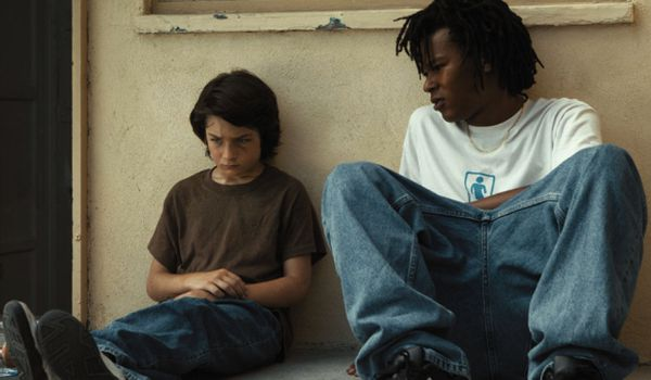 Sunny Suljic and Na-kel Smith in Jonah Hill's Mid90s