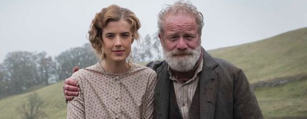 Agyness Deyn and Peter Mullan in Sunset Song