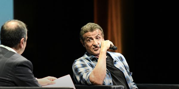 "In conversation in Cannes Sylvester Stallone [with journalist Didier Allouch]  - ""In the beginning, I didn't think I'd succeed. I was a nobody."""