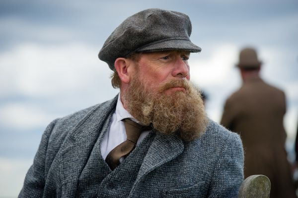 Peter Mullan plays golfer Tom Morris