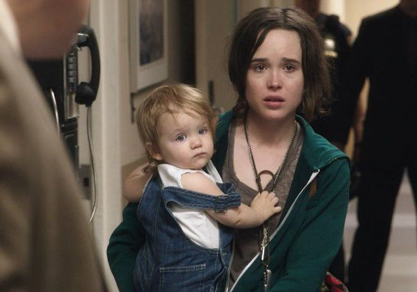 Ellen Page in Tallulah - a rootless young woman takes a toddler from a wealthy, negligent mother and passes the baby off as her own in an effort to protect her. This decision connects and transforms the lives of three very different women.