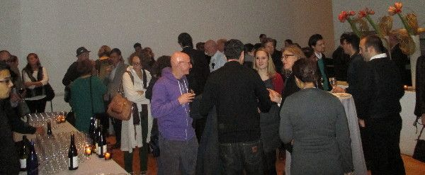 The Berlin School: Films from the Berliner Schule opening night reception at MoMA's Terrace 5