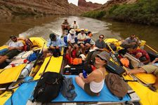 The Expedition Blue Planet crew on the Colorado River