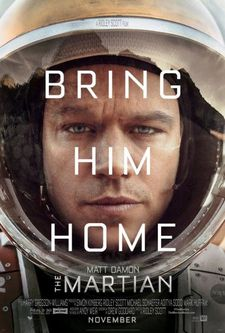 The Martian US poster