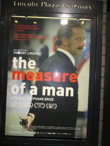 The Measure Of A Man poster at Lincoln Plaza Cinemas