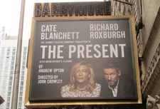 Cate Blanchett and Richard Roxburgh star in The Present at the Barrymore Theatre