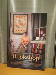 The Bookshop poster at the New York Public Library Young Lions screening